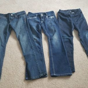 Lot of girls jeans